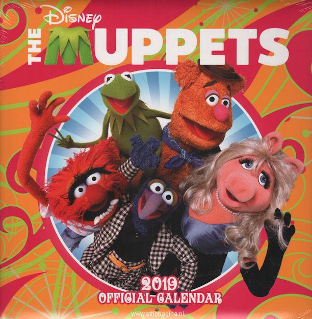 Album - The Muppets - offical calendar 2019